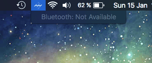 Bluetooth Not Available